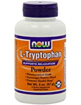 Now Foods, L-Tryptophan, Powder, 2 oz (57 g)