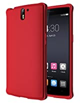 Diztronic Ultra TPU Case for OnePlus One - Full Matte Red