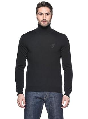 Versace Collection Jersey Toumas (Negro)
