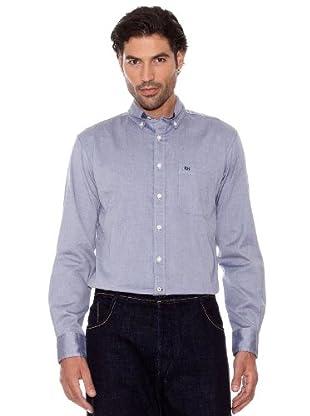 Pedro Del Hierro Camisa Oxford (gris)