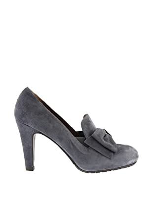 Paco Herrero Zapatos Ante Lazo (Gris)