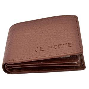 Je Porte 655 Litchi Men's Wallet-Brown
