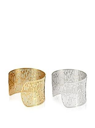Inori Set de pulseras  Oro Blanco