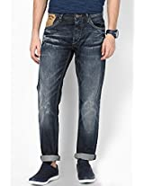 Blue Regular Fit Jeans (Holborne) Pepe Jeans
