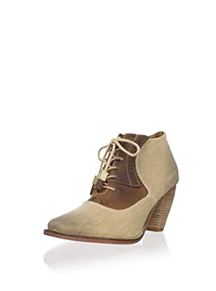 J. Shoes Women's Sidesaddle Bootie (Tan/Oatmeal)