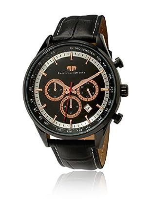 Rhodenwald & Söhne Reloj con movimiento cuarzo japonés 10010019 Negro 45  mm