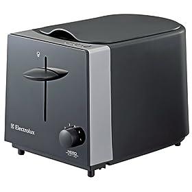 【クリックでお店のこの商品のページへ】Electrolux NERO ポップアップトースター 【バンウォーマー付】 ETS4000