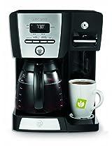 Mr. Coffee BVMC-DMX85 1750-Watt 12-Cup Programmable Coffee Maker (Black/Silver)