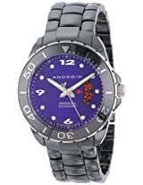 Android Men's Exotic Divemaster Swiss Quartz Ceramic Watch - Purple Dial AD417AKPU