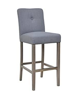 Classic Home Malone Barstool, Grey