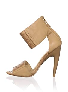 L.A.M.B. Women's Mya Ankle-Strap Sandal (Tan)