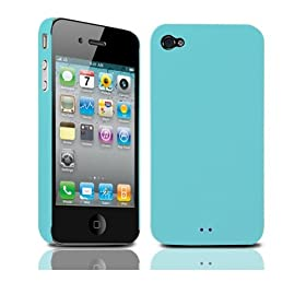 �y���K�i�z TUNEWERE eggshell for iPhone 4 �u���[ TUN-PH-35