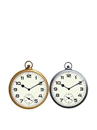 Juego 2 Relojes Antic