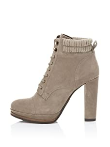 DV by Dolce Vita Women's Wallie Lace-Up Bootie (Taupe)