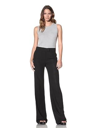 Ann Demeulemeester Women's Adjustable Waist Trousers (Black)