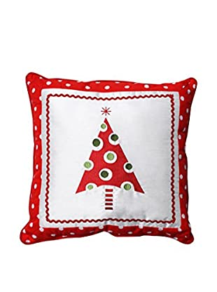 Pillow Perfect Framed Christmas Tree Throw Pillow