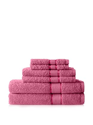 Espalma Ambassador 6-Piece Towel Set, Raspberry
