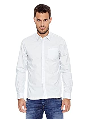 Pepe Jeans London Camisa Hombre Colin (Blanco)