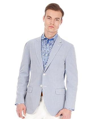 Hackett Blazer Clásica (azul claro)