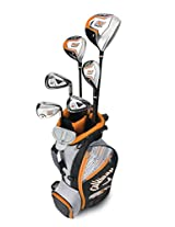 Callaway CG X Junior Boy's Packaged Sets Regular Flex Graphite Right Hand, Pack of 8, 9-12 Years