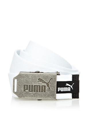 Puma Cinturón Fundamentals Webbing (Blanco)