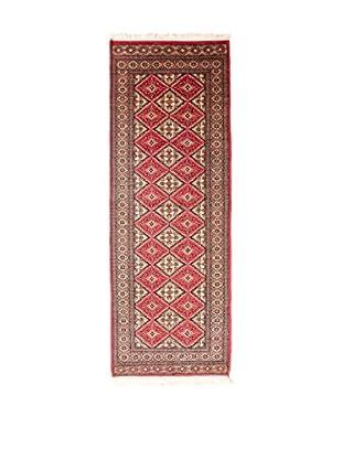 RugSense Alfombra Kashmir Rojo/Multicolor 249 x 80 cm