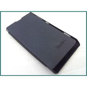 Sony Xperia L s36h c2104 c2105 Flip Diary Case Cover - black