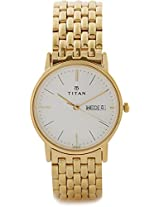 Titan Analog Watch - For Men Gold-149YM06