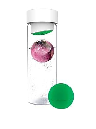 AdNArt Glass Water Bottle (Green)