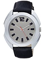 Fastrack Casual Analog Grey Dial Men's Watch - 3117SL02