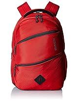 American Tourister Encarta Red Laptop Backpack (Encarta 02_8901836132908)