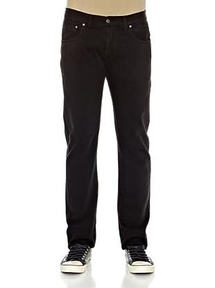 Carrera Jeans Pantalón Bull Denim Stricky (Negro)