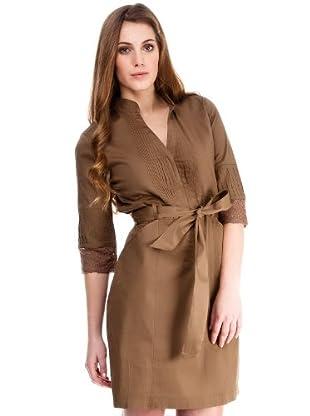 Almatrichi Vestido (marrón)