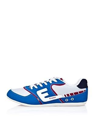 Erase Zapatillas Deportivas Con Cordones (Azul Royal)