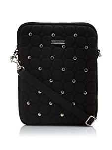 Rebecca Minkoff Women's Studded iPad Sleeve (Black)