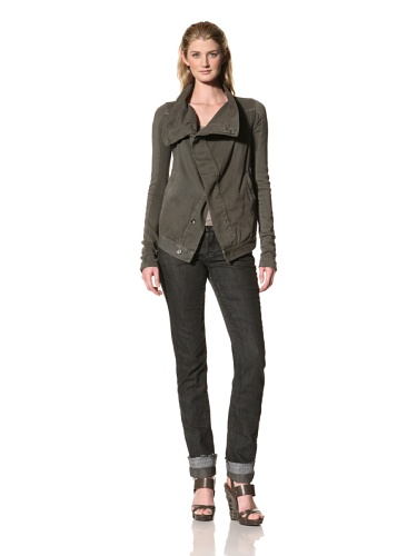 RICK OWENS Women's Denim Jacket (Dark Dust)
