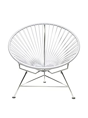 Innit Designs Innit Chair, White/Chrome