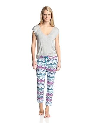 40 Winks Women's 2-Piece Pajama Set (Coachella)