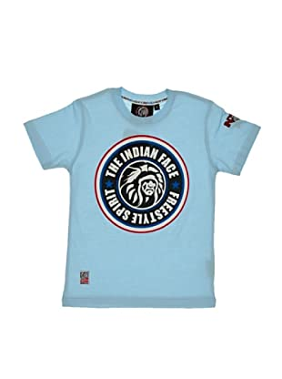The Indian Face Camiseta Print Logo (Azul)