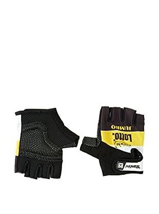 Santini Fingerlose Handschuhe Replica Team Lotto 2015