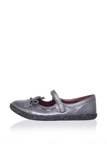Kickers Kid's Baya 2 Mary Jane (Toddler/Little Kid) (Silver)