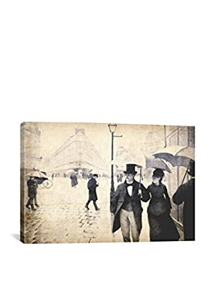 Paris Street V Gallery Wrapped Canvas Print
