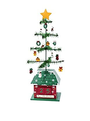 Kurt Adler Christmas Tree Calendar with Ornaments