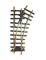 """Bachmann Industries Large """"G"""" Scale Universal Brass Track with 30 Degree 4' Diameter Turnout, Right"""