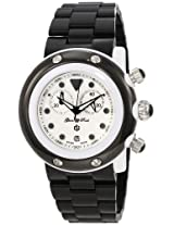 Glam Rock Glam Rock Unisex Gk1112 Miami Beach Chronograph White Dial Black Plastic Watch - Gk1112