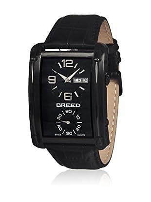Breed Reloj con movimiento cuarzo suizo Brd3805 Negro 40  mm