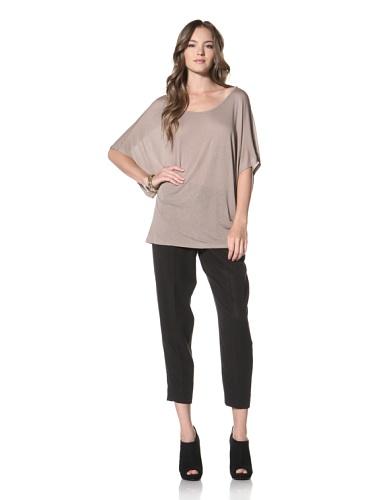 Nation LTD by Jen Menchaca Women's Coachella Short Sleeved T-Shirt (Mushroom)