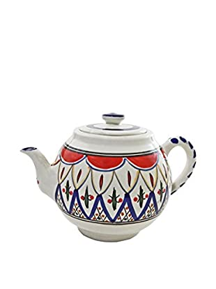 Le Souk Ceramique Tabarka Teapot, Multi