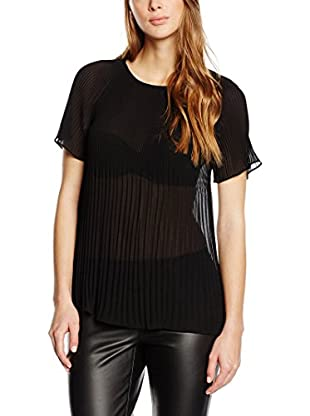 Michael Kors Top Pleated Neck Top