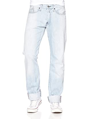 Replay Pantalón Bibb (Azul Claro)